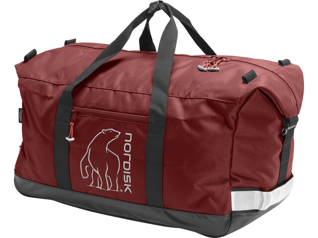 Nordisk Flakstad Matkakassi 45L, burnt red